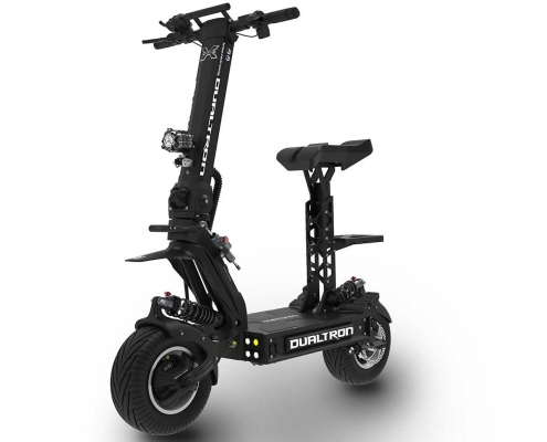 Dualtron electric Scooter Front Profile