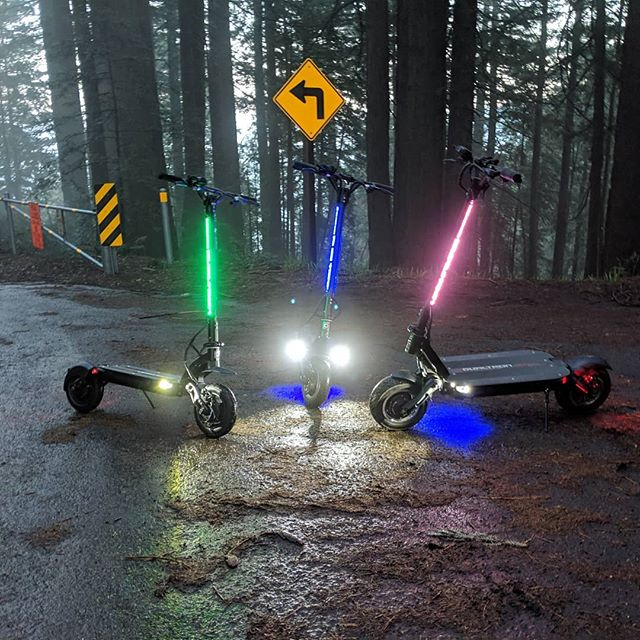 Dualtron Thunder Lighting electric scooters