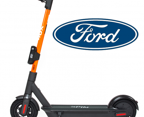 Ford's Spin Scooter