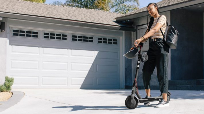 Electric Scooter Driveway