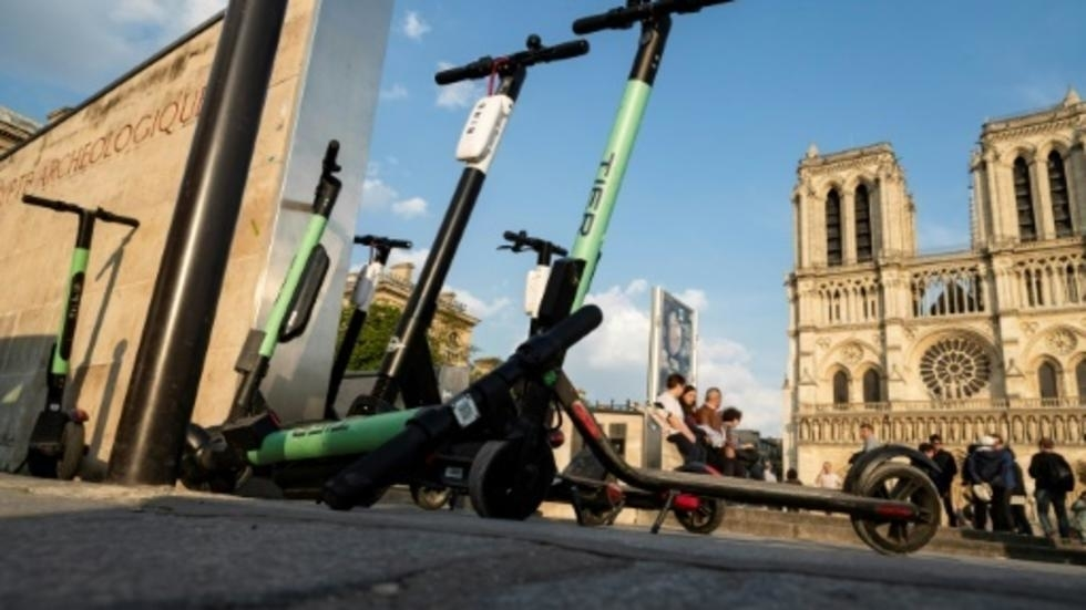 Electric Scooter Norte Dame Photo