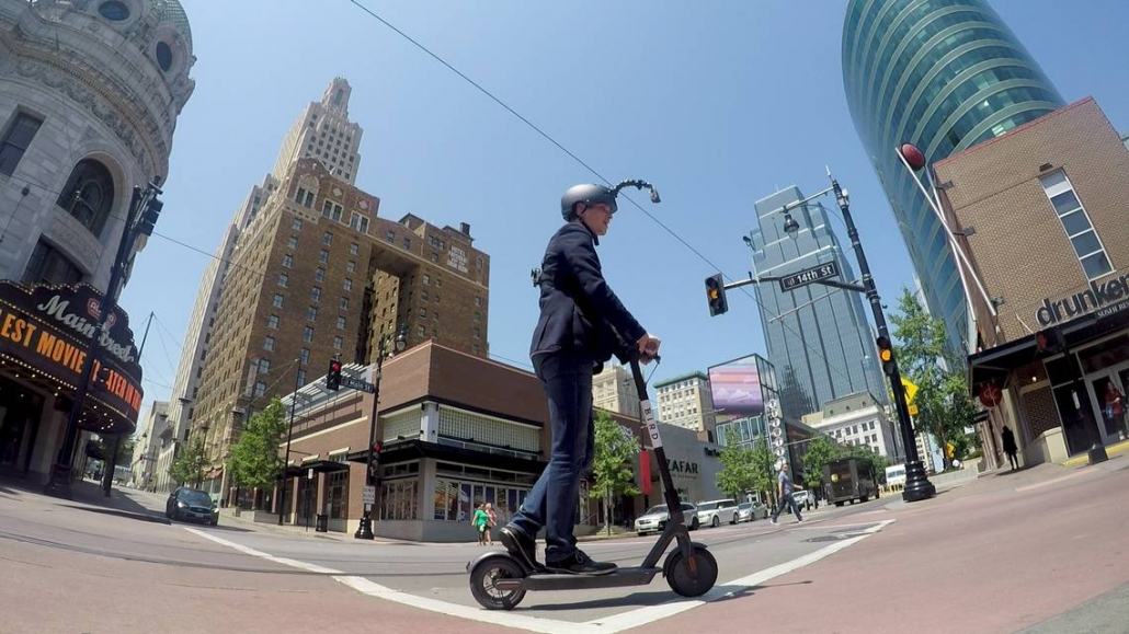 Scooter riders in Kansas need to have a driver license to ride