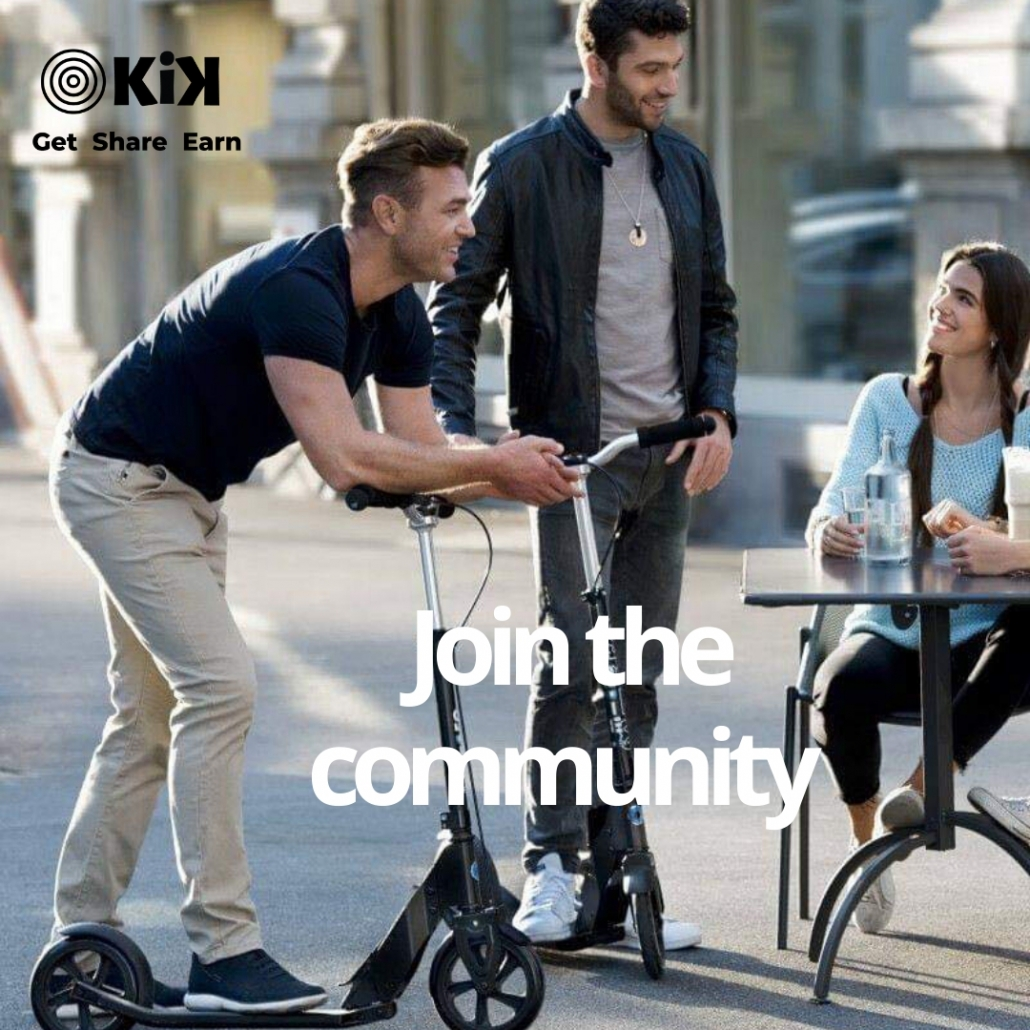 Rent out your electric scooter with Kik mobility